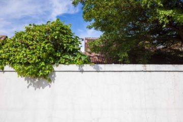 Clôture de jardin en béton