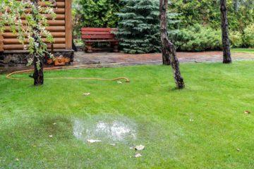 jardin inondé perméable
