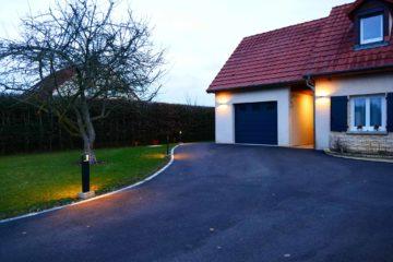 L'accès de garage