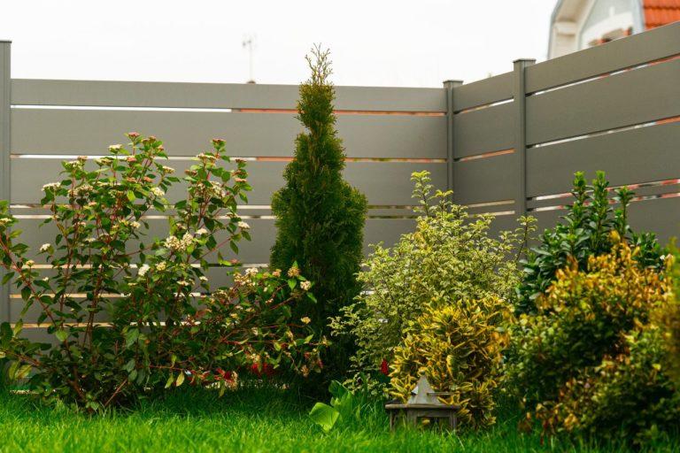 Portail battant et clôture aluminium