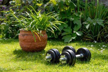 Faire du sport dans son jardin