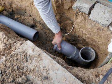 Des travaux pour assurer le traitement des eaux usées